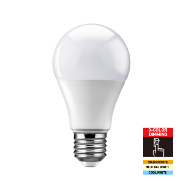 Segmented Color LED Bulb-Classic Series