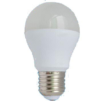 4.5W A55 LED Bulb with 30,000 Hours Lifespan and 100 to 240V