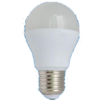 5W Dim A55 LED Bulb with 30,000 Hours Lifespan and 220 to 240V Voltage