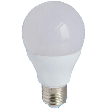 6.5W Dim A60 LED Bulb with 30,000-hour Lifespan and 100 to 240V Operating Voltage