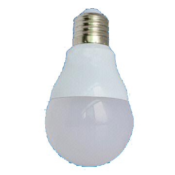 8W Dim A60 LED Bulb with 30,000 Hours Lifespan and 100 to 240V Voltage