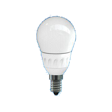 A15 3.5W LED Deco Bulb with Oyster White Cover, 25,000 Hours Lifespan and 100 to 240V Voltage