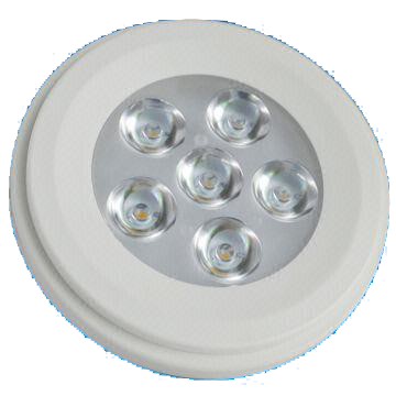 AR111 7W LED Bulb with 30,000-hour Lifespan and 12V AC/DC Rated Voltage
