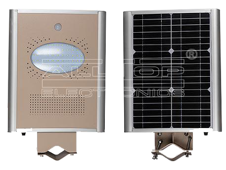 8W All-In-One Solar LED Street Light with sensor