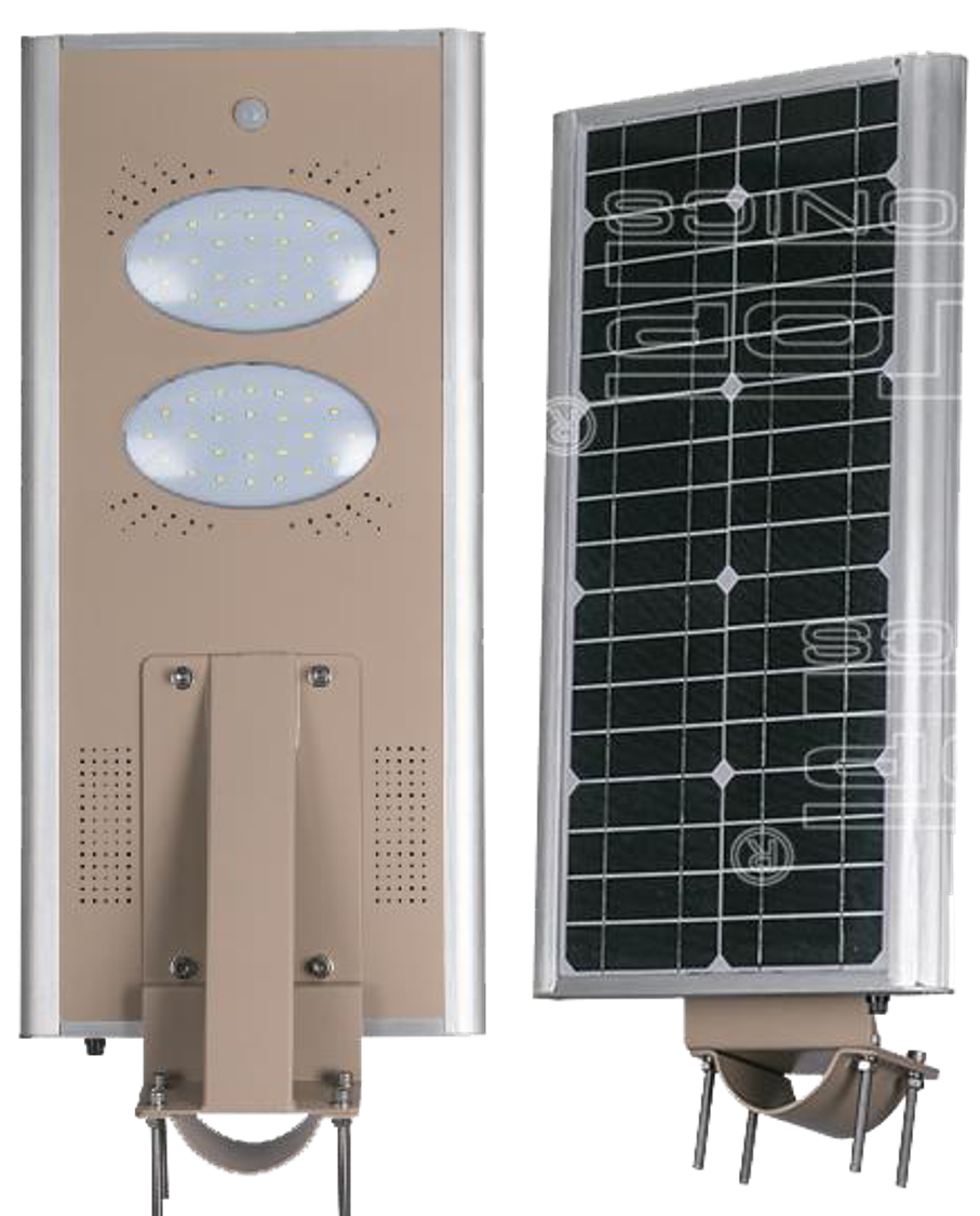 30W All-In-One Solar LED Street Light with sensor