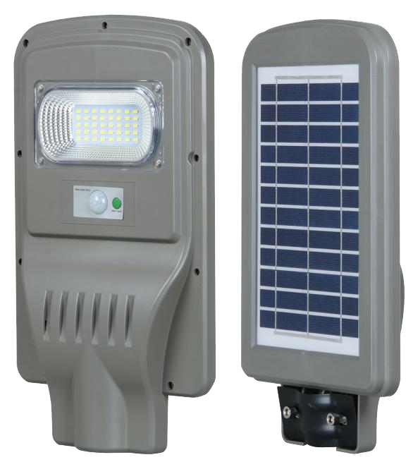 30W All-in-one solar led street ligh with sensor