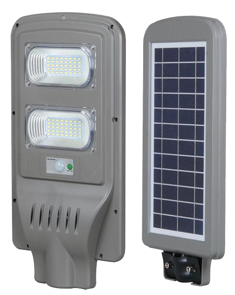 90W All-in-one solar led street ligh withsensor