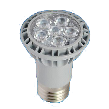 Dim PAR16 7W LED Bulb with 25,000 Hours Lifespan and 220 to 240V Voltage
