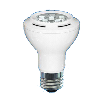 Dim PAR20 7W LED Bulb with 30,000 Hours Lifespan and 220 to 240V Voltage
