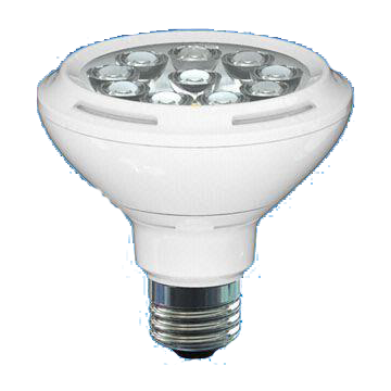Dimmable PAR30 11W LED Lamp with 30,000 Hours Lifespan and 120V