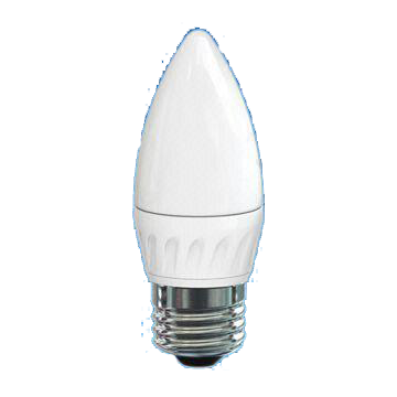 Dimmable Candle 3.5W LED Deco Bulb with Oyster White Cover, 25,000 Hours Lifespan and 220 to 240V