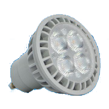 GU10 5W LED Bulb with 25,000-hour Lifespan and 100 to 240V