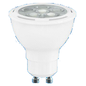 LED Dimmable GU10 6.5W LED Lamp with 25,000 Hours Lifespan and 120V