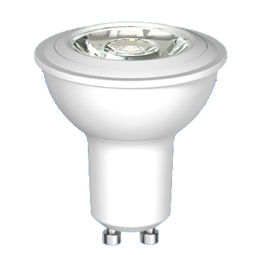 LED GU10 6W LED lamp with 25,000 Hours Lifespan and 100-240V