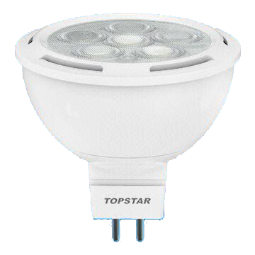 MR16 7W LED Bulb with 25,000 Hours of Lifespan and 12V AC/DC Rated Voltage