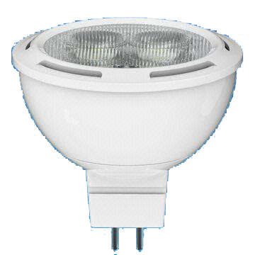 MR16 LED Bulb, 4.5W with 25,000 Hours Lifespan and 12V AC/DC Rated Voltage