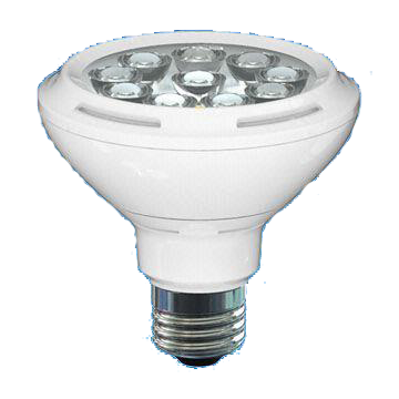 PAR30 11W LED Bulb with 30,000 Hours Lifespan and 100 to 240V Voltage