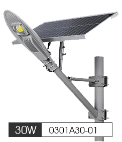 Solar Led Street Light 30W