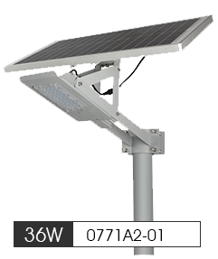 36W Solar LED Street Light system