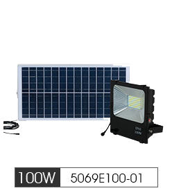Solar Led Flood Light 100W